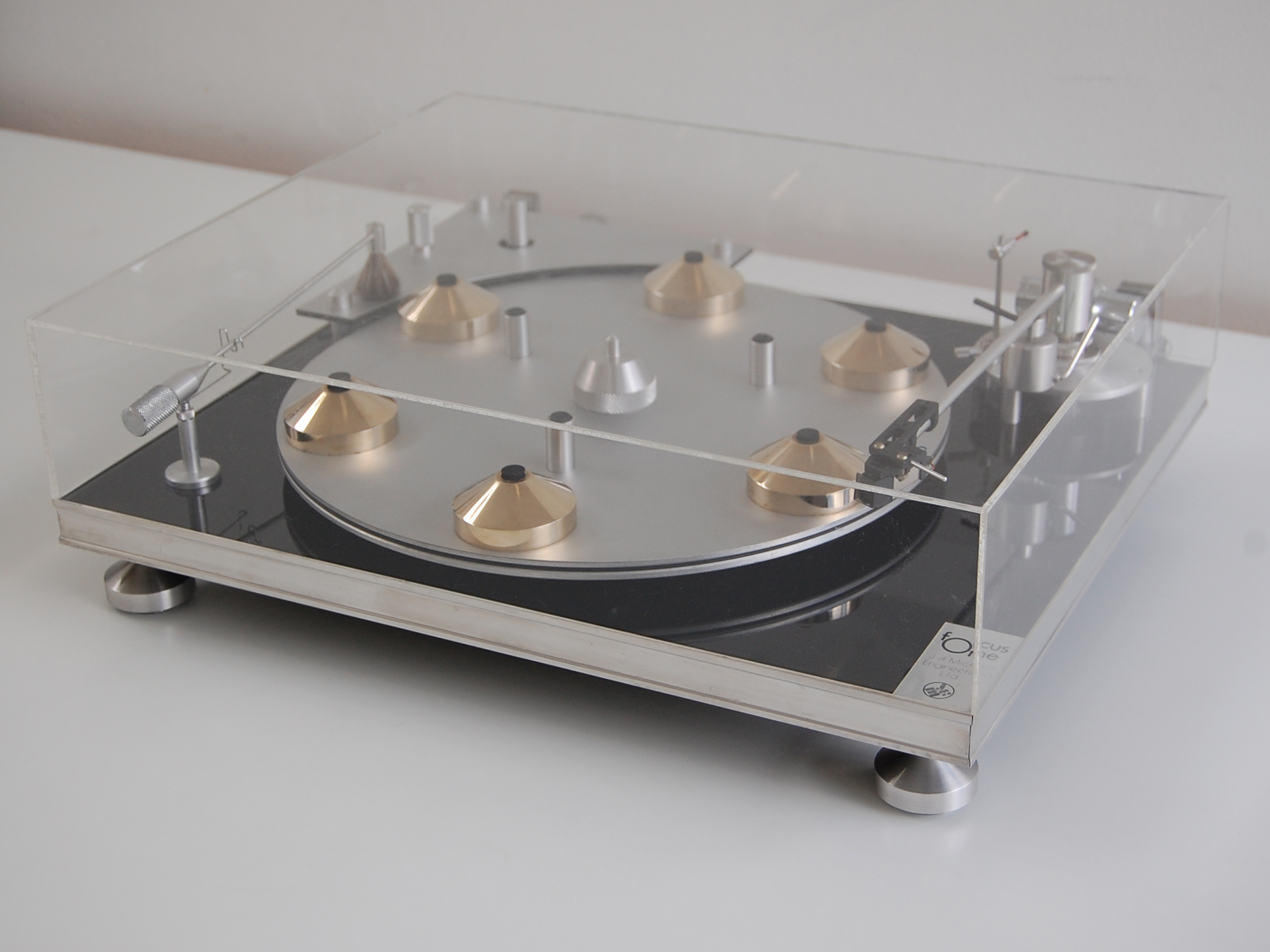 J A Michell Engineering Focus One Turntable 1977 Works Of Design